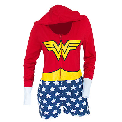 Wonder Woman Women's Cosplay Romper