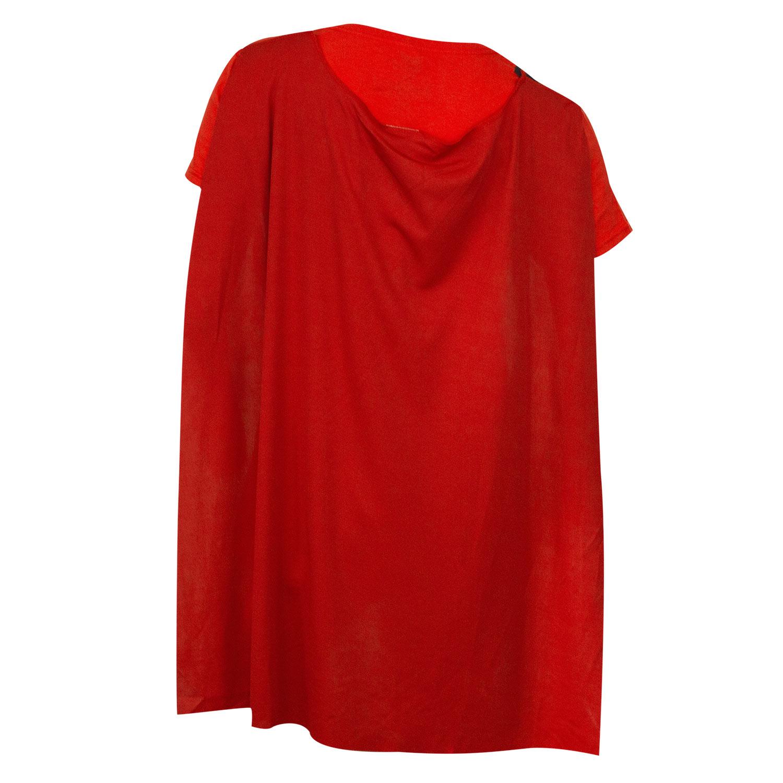Wonder Woman Womens Red Capetiara Costume T-Shirt -3822