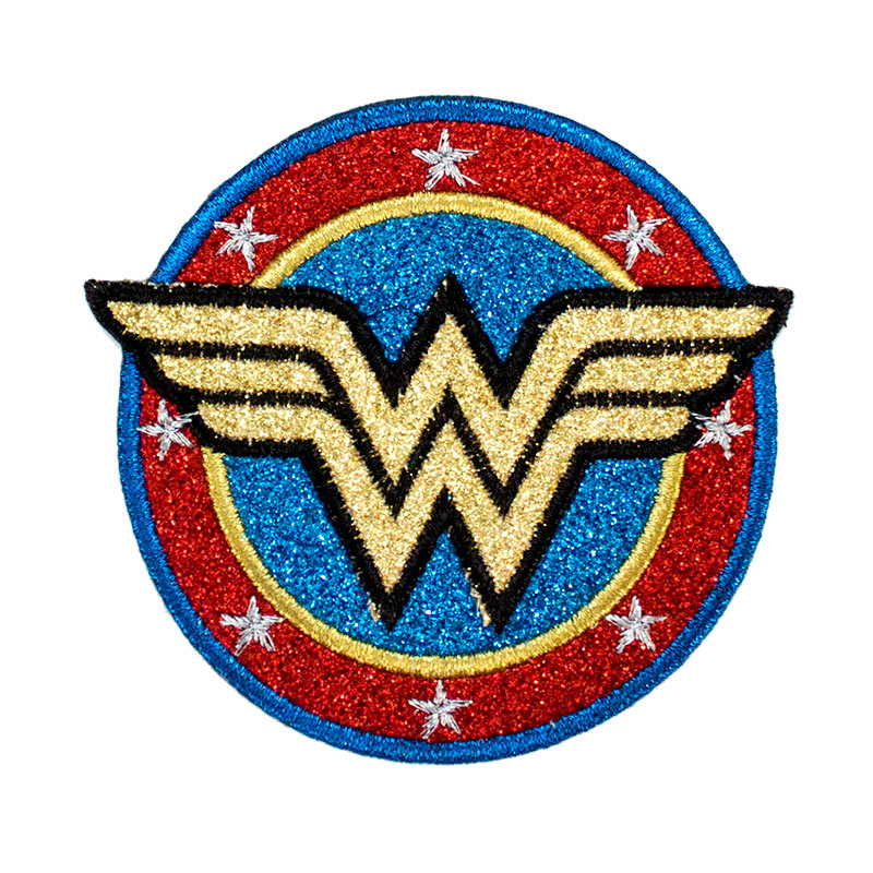 Wonder Woman Glitter Patch Superheroden
