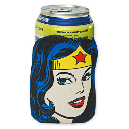 DC Wonder Woman Diecut Can Cooler