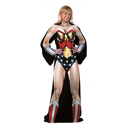 Wonder Woman Elite Adult Costume Snuggie
