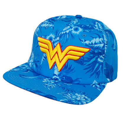 Wonder Woman Superhero Floral Hat