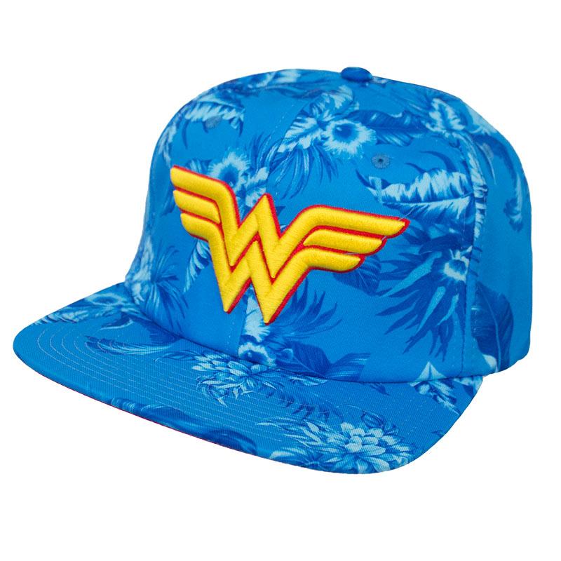 Wonder Woman Floral Hat