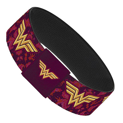 Wonder Woman Floral Elastic Band