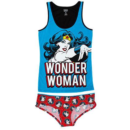 Wonder Woman Women's Tank And Underwear Set