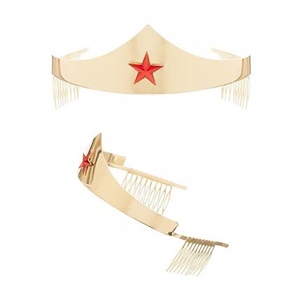 Wonder Woman Comic Tiara Costume Piece