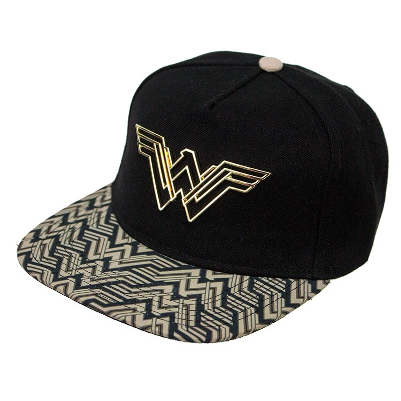 4a94bda4477 Wonder Woman Movie Logo Snapback Hat