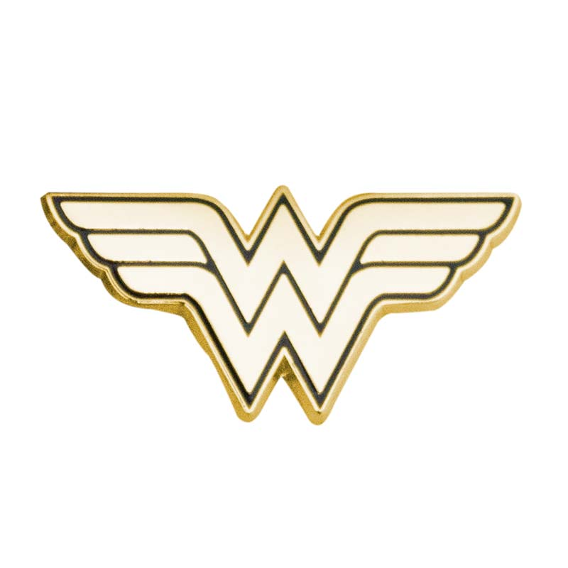 Wonder Woman Gold Lapel Pin