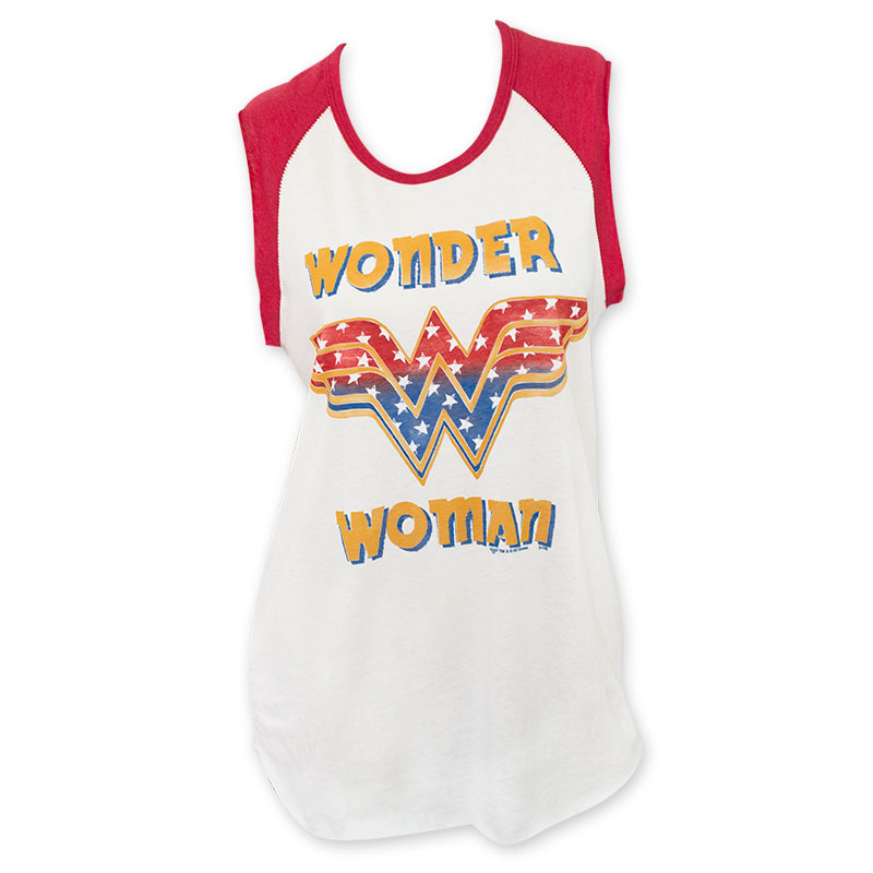0c47fb24 item was added to your cart. Item. Price. Junk Food Wonder Woman White Women's  Muscle Tank