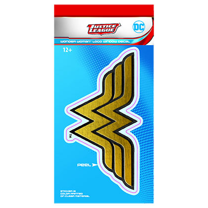 Wonder Woman Comic Logo Decal