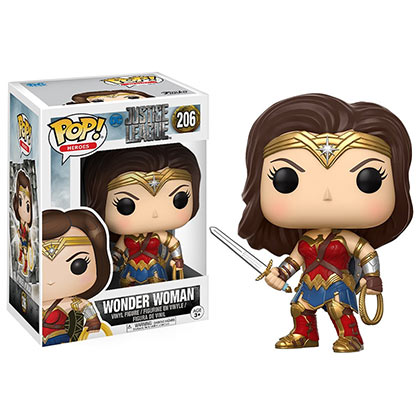 Justice League Movie Funko Pop Wonder Woman Vinyl Figure