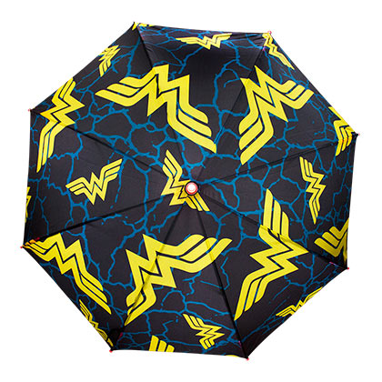 Wonder Woman Logos LED Light Up Umbrella
