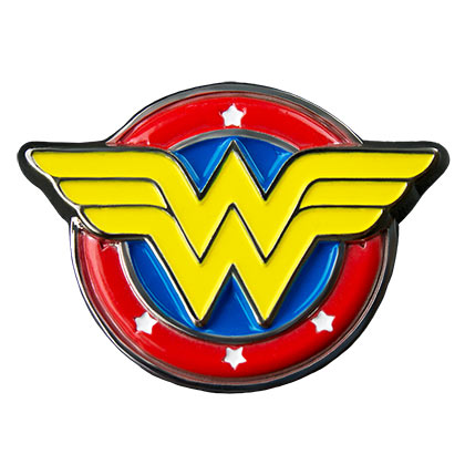 Wonder Woman Logo Lapel Pin
