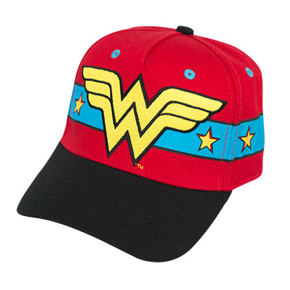 Wonder Woman Superhero 3D Hat