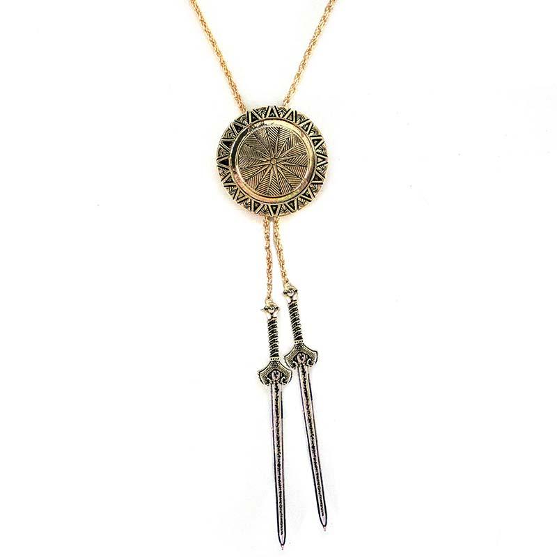 Wonder Woman Lariat Bolo Necklace