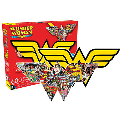 Wonder Woman Comic Two-Sided Puzzle