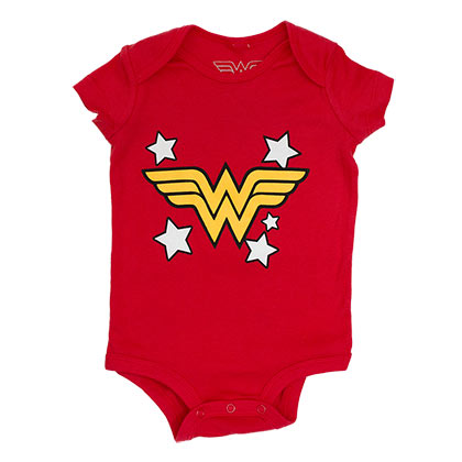 Wonder Woman Snap Infant Bodysuit Onesie