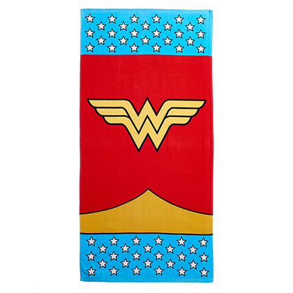 Wonder Woman Classic Logo Beach Towel