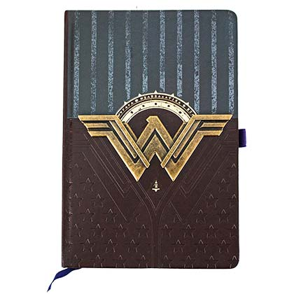 Wonder Woman Metal Logo Journal