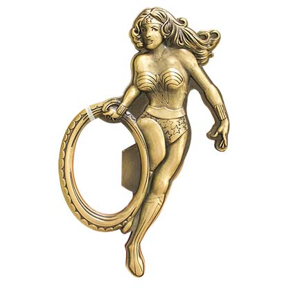 Wonder Woman Gold Bottle Opener