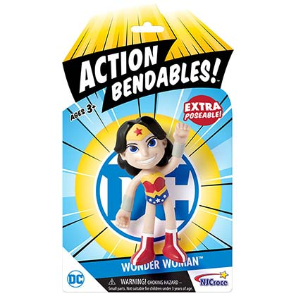Wonder Woman Action Bendables 4in Toy