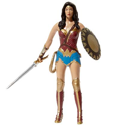 Wonder Woman Bendable Superhero Action Figure