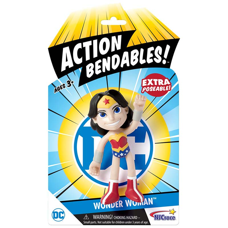 Wonder Woman Action Bendables Toy