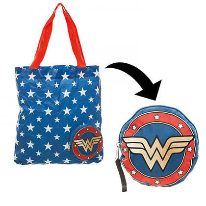 DC Comics Wonder Woman Packable Tote Bag