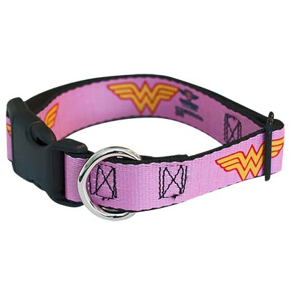 Wonder Woman Pet Collar