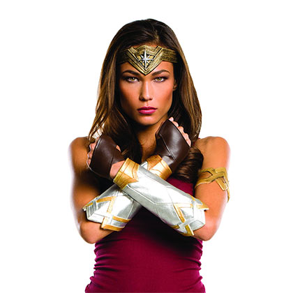 Wonder Woman Superhero Accessory Costume Kit
