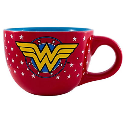 Wonder Woman Red Soup Mug