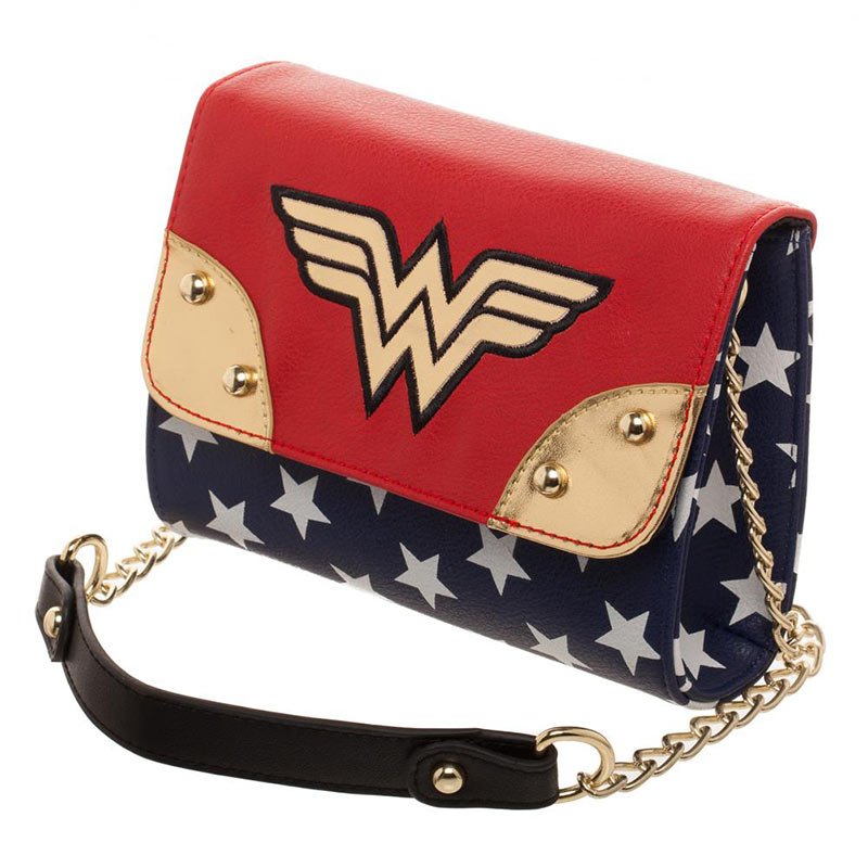 Wonder Woman Junior Ladies Sidekick Shoulder Strap Purse