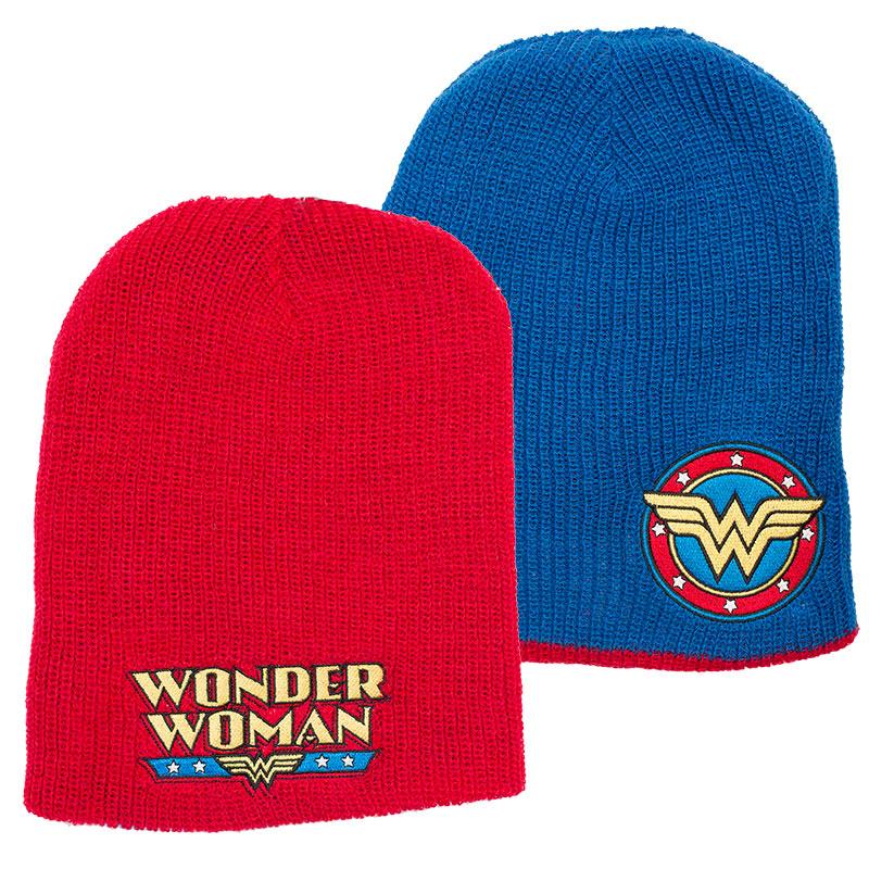Wonder Woman Reversible Beanie