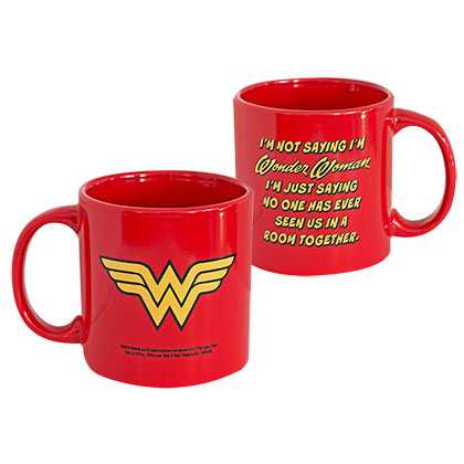 Wonder Woman Comic Red Mug