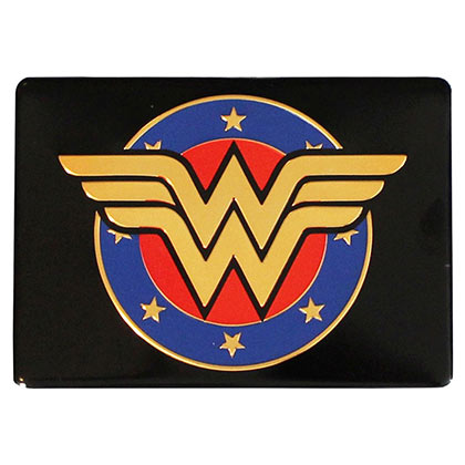 Wonder Woman Comic Shield Metal Magnet