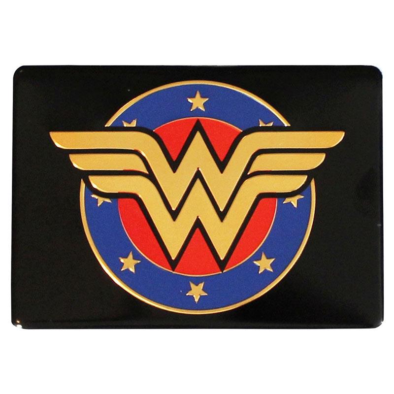 Wonder Woman Shield Logo Magnet