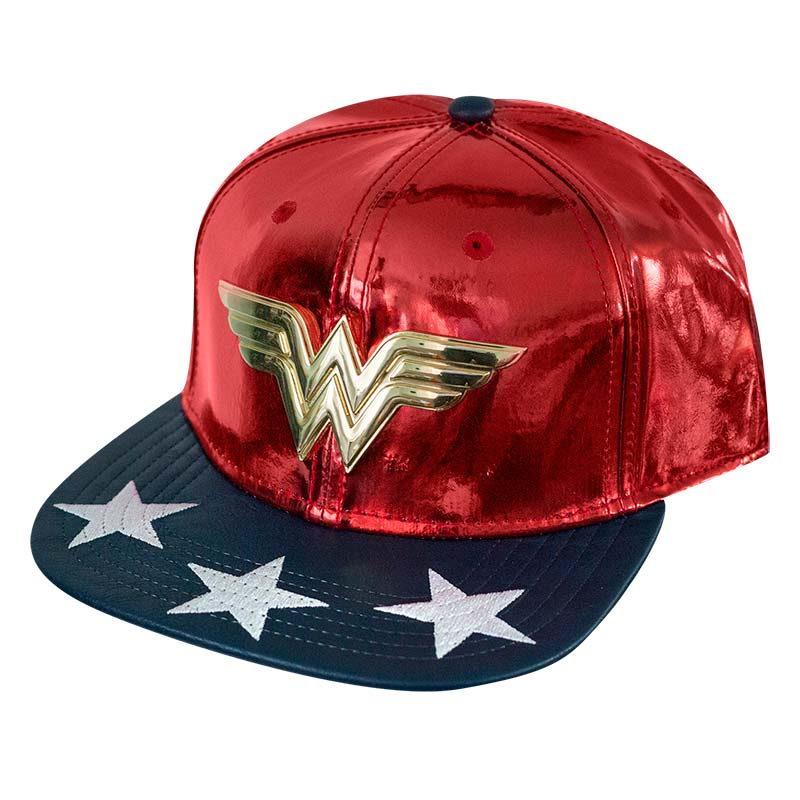 Wonder Woman Comic Shiny Logo Hat