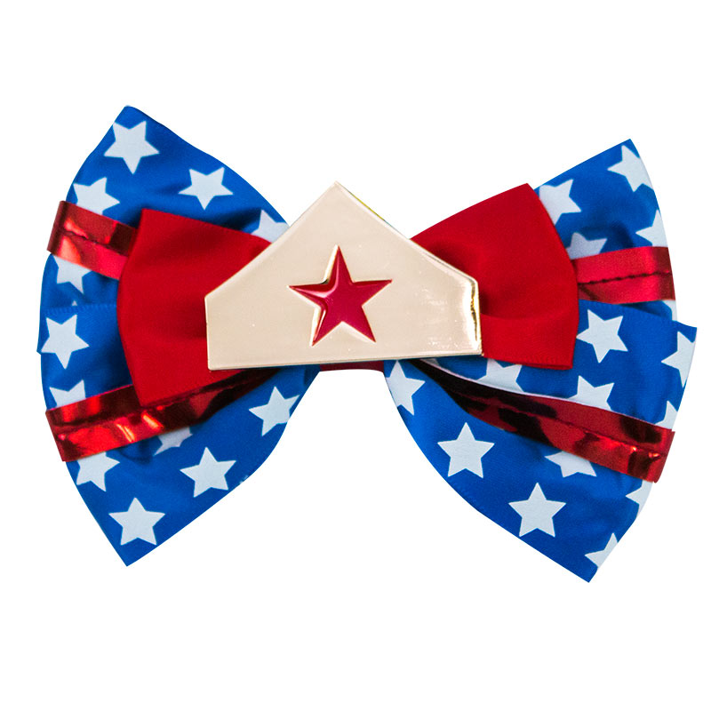 Wonder Woman Superhero Hair Bow