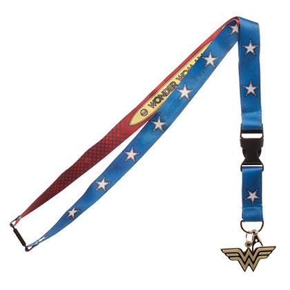 Wonder Woman Keychain Lanyard