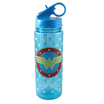Wonder Woman Plastic Water Bottle