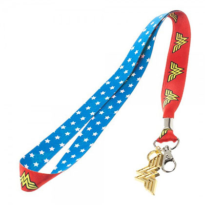 Wonder Woman Lanyard Keychain