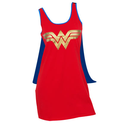 Wonder Woman Cape Costume Dress