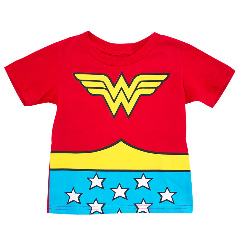 Wonder Woman Red Toddler's Costume T-Shirt