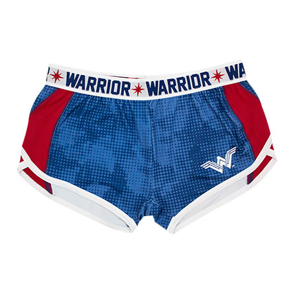 Wonder Woman Blue Warrior Track Shorts