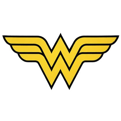 Wonder Woman Comic 12 Inch Patch