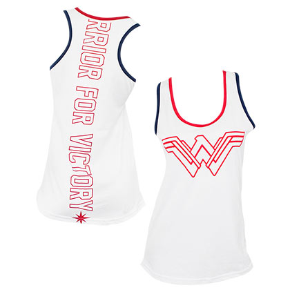 Wonder Woman White Women's Tank Top
