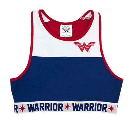 Wonder Woman Women's Crop Top Tank Top