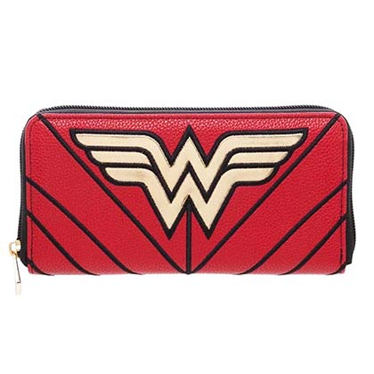 Wonder Woman Red Women's Zip Around Wallet