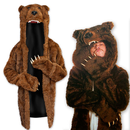 Workaholics Blake Bear Men S Coat Tvmoviedepot Com