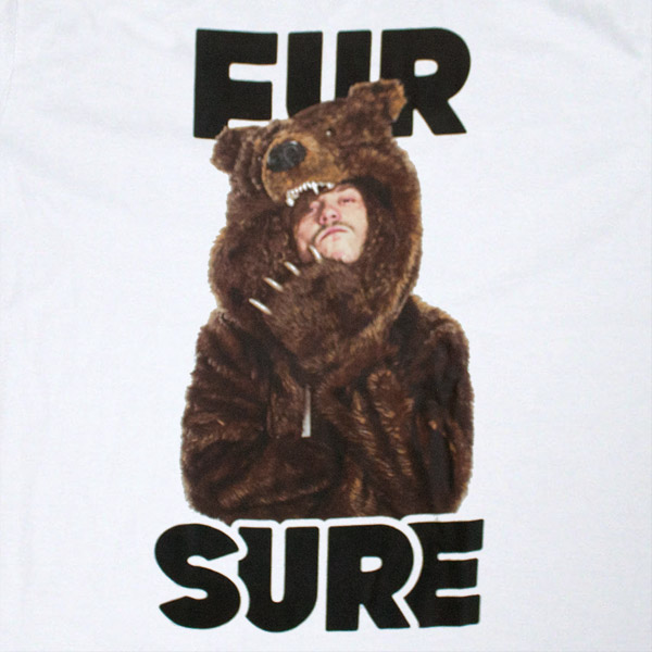 Workaholics Fur Sure T Shirt - White